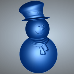 Snowman.png Download STL file Snowman STL • Template to 3D print, novaeshenrique