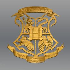 Descargar archivo 3D Emblema de Harry Potter STL, novaeshenrique