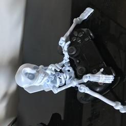 Download STL files Cute Flexi Print-in-Place Skeleton, ahmed82000