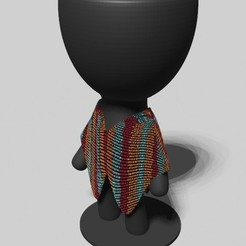 tito ponchito.jpeg Download STL file ponchoytail • Template to 3D print, brianbhs