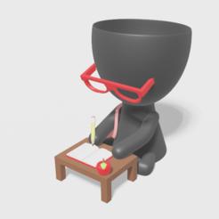tita maestra 2.PNG Télécharger fichier STL Maître planteur • Design pour imprimante 3D, brianbhs