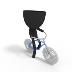 Télécharger fichier imprimante 3D planteuse de vélo de plage, brianbhs