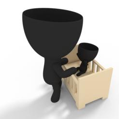 tito mamila 2.PNG Télécharger fichier STL planteuse de berceau • Modèle pour imprimante 3D, brianbhs