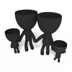 1.PNG Download STL file Plantera Family • 3D print design, brianbhs