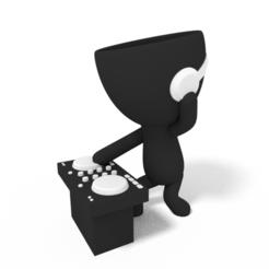 DJ tito.PNG Télécharger fichier STL DJ Planter • Design pour impression 3D, brianbhs