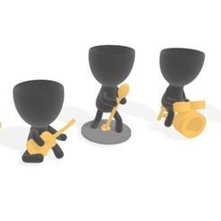 3d8594f6-315a-433f-b8df-fb93844efedf.jpg Download STL file modern plant band • 3D printing object, brianbhs