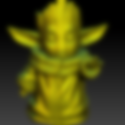 Télécharger objet 3D gratuit Yodagroot - bébé yoda bébé groot, Marolce19