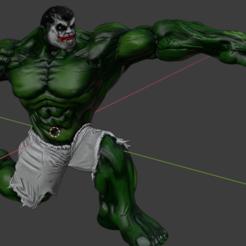 Télécharger fichier STL gratuit Hulk pose agora 3d. Hulk cuauhtemiña, Marolce19