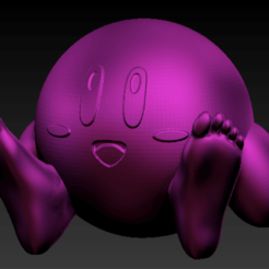 Download free STL files kirby sitting, Marolce19