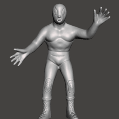 Download 3D printing models toy wrestler, Marolce19