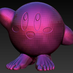 Download free 3D printing models Kirby foots, Marolce19