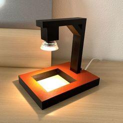 """Descargar archivo 3D Lámpara """"Hang""""., twooed"""