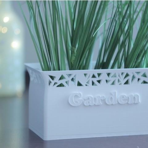 a29a842b223abe47d0fba0c2ea233cc9_preview_featured.JPG Download free STL file Flower Pot Garden • 3D printing design, Marcin_Wojcik