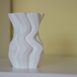 Descargar archivos 3D gratis JARRON de copos de nieve, Marcin_Wojcik