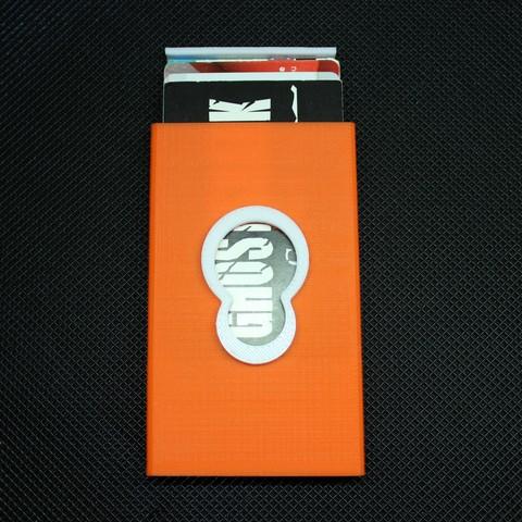 IMG_6806.JPG Télécharger fichier OBJ gratuit Porte-cartes de visite Magigoo Logo Magigoo • Objet pour imprimante 3D, F722