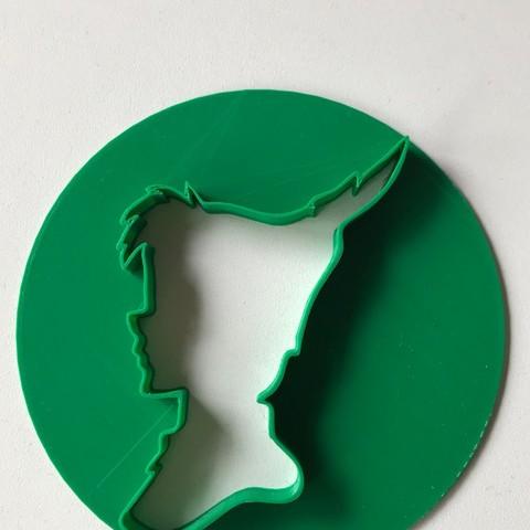 STL file Peter Pan biscuit cutter, MartinaBurek