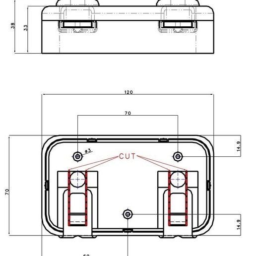 vykres na net.jpg Download free STL file key hanger • 3D print template, zibi36