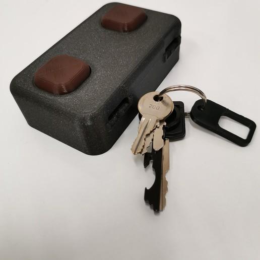 Download free 3D printing templates key hanger, zibi36