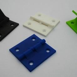 Descargar archivo 3D gratis bisagra 40x40mm, zibi36