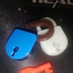 Télécharger plan imprimante 3D gatuit mini cadenas, zibi36