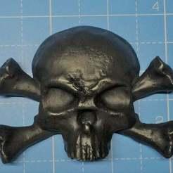 Download free STL file Skull and Crossbones, simonbramley