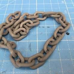 Télécharger plan imprimante 3D gatuit Une chaîne facile, simonbramley