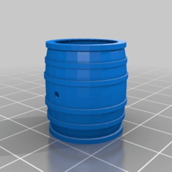 Download free 3D printing designs Wine Barrel, simonbramley