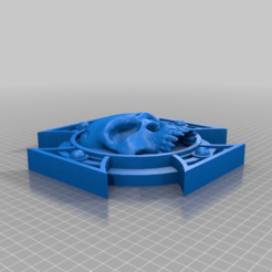 Download free STL file Terminatus Warhammer 40k • 3D printer template, simonbramley
