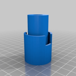 Download free 3D model End plate dowel holder, simonbramley