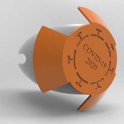 Download free 3D printing templates Time Capsule COVID-19, Carlos91