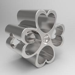 Download 3D printer model clover charm, Carlos91