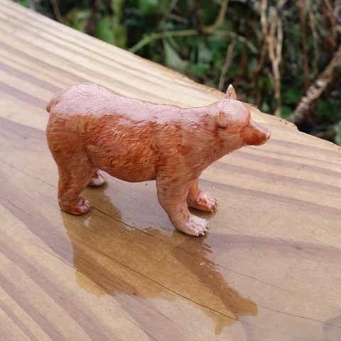 Download free 3D print files Brown Bear, JGranite