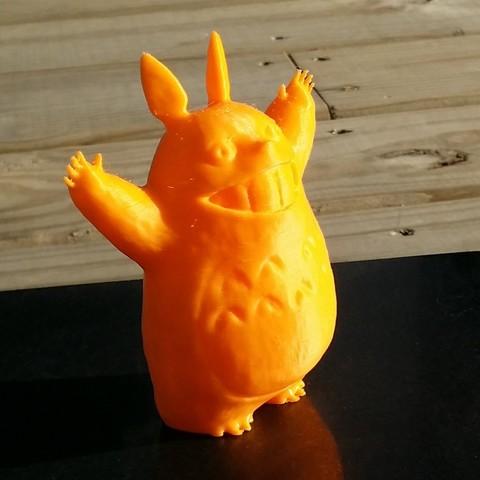 Impresiones 3D gratis Totoro, JGranite