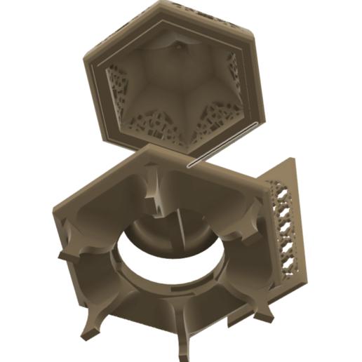 Screen Shot 2020-06-02 at 3.47.44 PM.png Download STL file Islamic Lantern • 3D printing model, ayfaridi