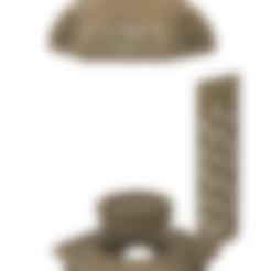 Body1_Lantern v5.stl Download STL file Islamic Lantern • 3D printing model, ayfaridi