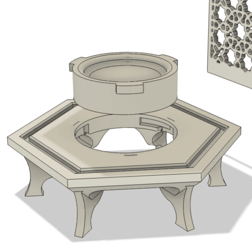 Screen Shot 2020-06-02 at 3.43.17 PM.png Download STL file Islamic Lantern • 3D printing model, ayfaridi