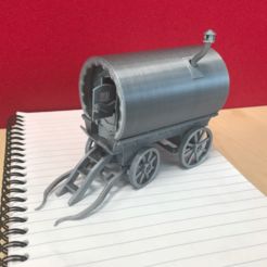Capture d'écran 2018-04-25 à 14.36.39.png Download free STL file Vardo Caravan • 3D print model, johnnycope