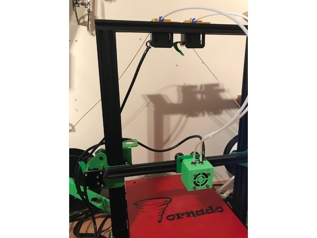 e6718f2f467cd81cecdc03168a9dba1a_preview_featured.jpg Download free STL file Tevo Tornado Dual extruder mod • 3D printing model, johnnycope
