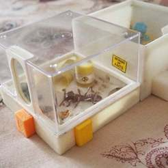Download free 3D printing templates Arena for the modular ant farm, gamebox13