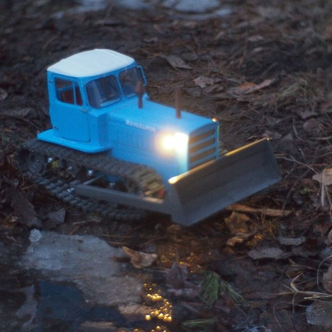 P4070559.JPG Download free STL file RC Soviet tractor DT-75 Kazakhstan (1\10 scale) • 3D printer design, gamebox13