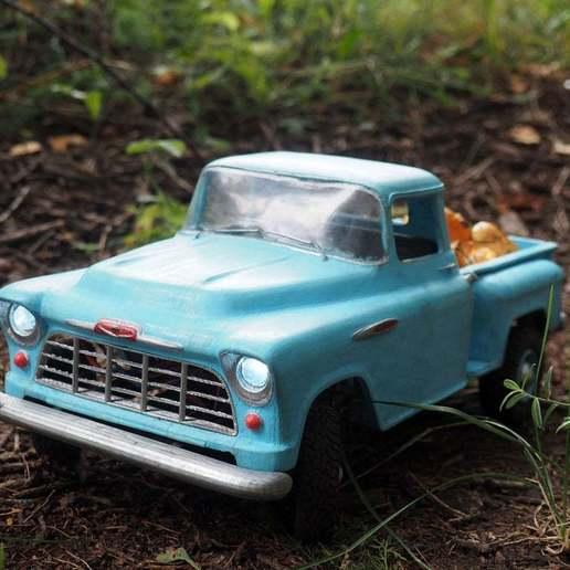 P8021066.JPG Download free STL file RC Chevrolet 3100 • Design to 3D print, gamebox13