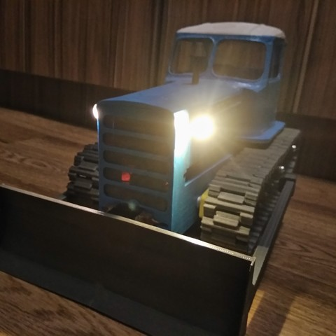 IMG_20180402_221216.jpg Download free STL file RC Soviet tractor DT-75 Kazakhstan (1\10 scale) • 3D printer design, gamebox13