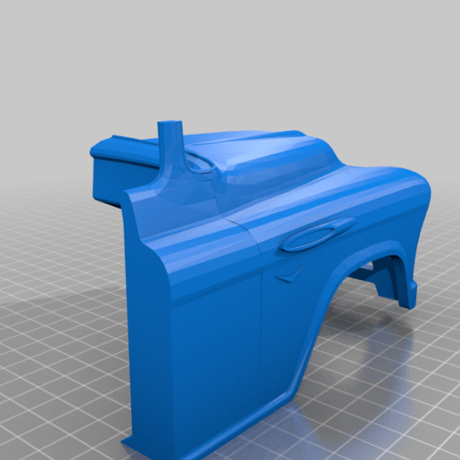 cabin21s.png Download free STL file RC Chevrolet 3100 • Design to 3D print, gamebox13