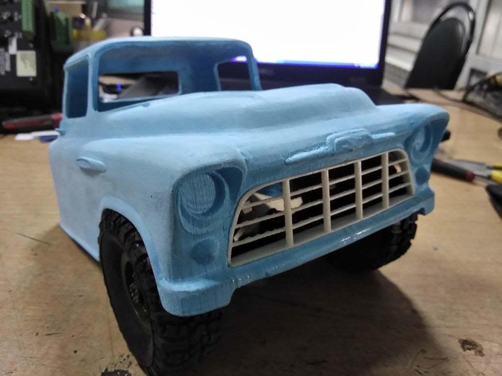 IMG_20190814_102209.jpg Download free STL file RC Chevrolet 3100 • Design to 3D print, gamebox13