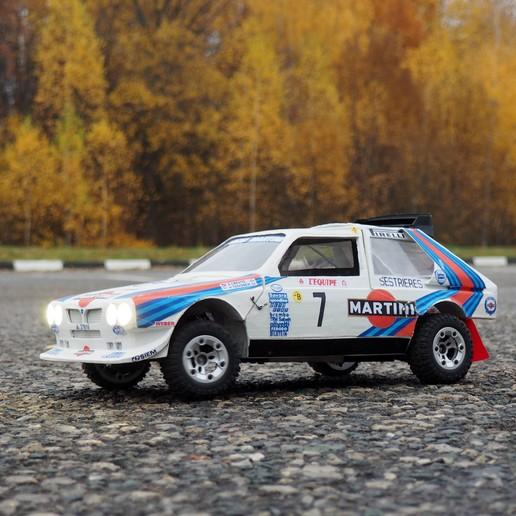 Descargar archivos STL gratis RC Lancia Delta S4, gamebox13