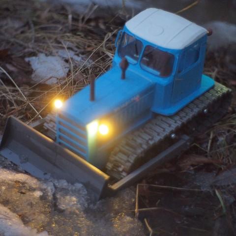 P4070562.JPG Download free STL file RC Soviet tractor DT-75 Kazakhstan (1\10 scale) • 3D printer design, gamebox13