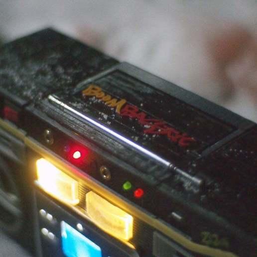 PC090452.JPG Download free STL file Boombastic - portable old school music player • 3D printer design, gamebox13