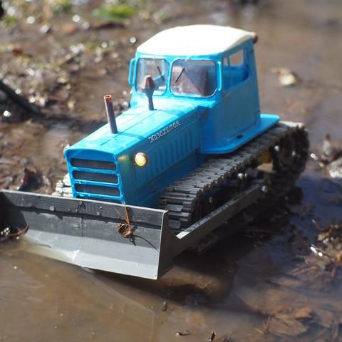 P4140500.JPG Download free STL file RC Soviet tractor DT-75 Kazakhstan (1\10 scale) • 3D printer design, gamebox13
