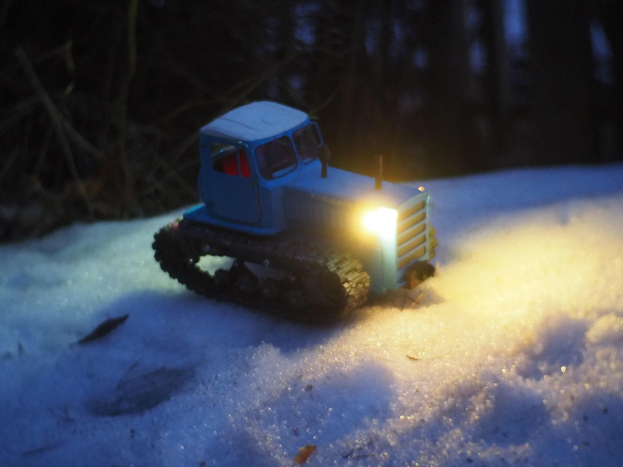 P4140534.JPG Download free STL file RC Soviet tractor DT-75 Kazakhstan (1\10 scale) • 3D printer design, gamebox13