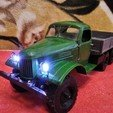 Download free 3D printing models ZIL-157 - RC truck with the WPL transmission , gamebox13